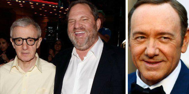 Woody Allen, Harvey Weinstein e Kevin Spacey são acusados de estupro e