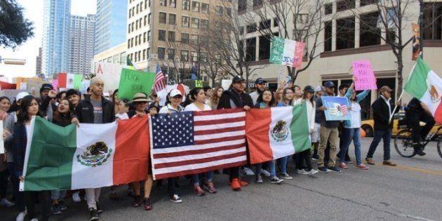 O dia que os imigrantes pararam nos Estados
