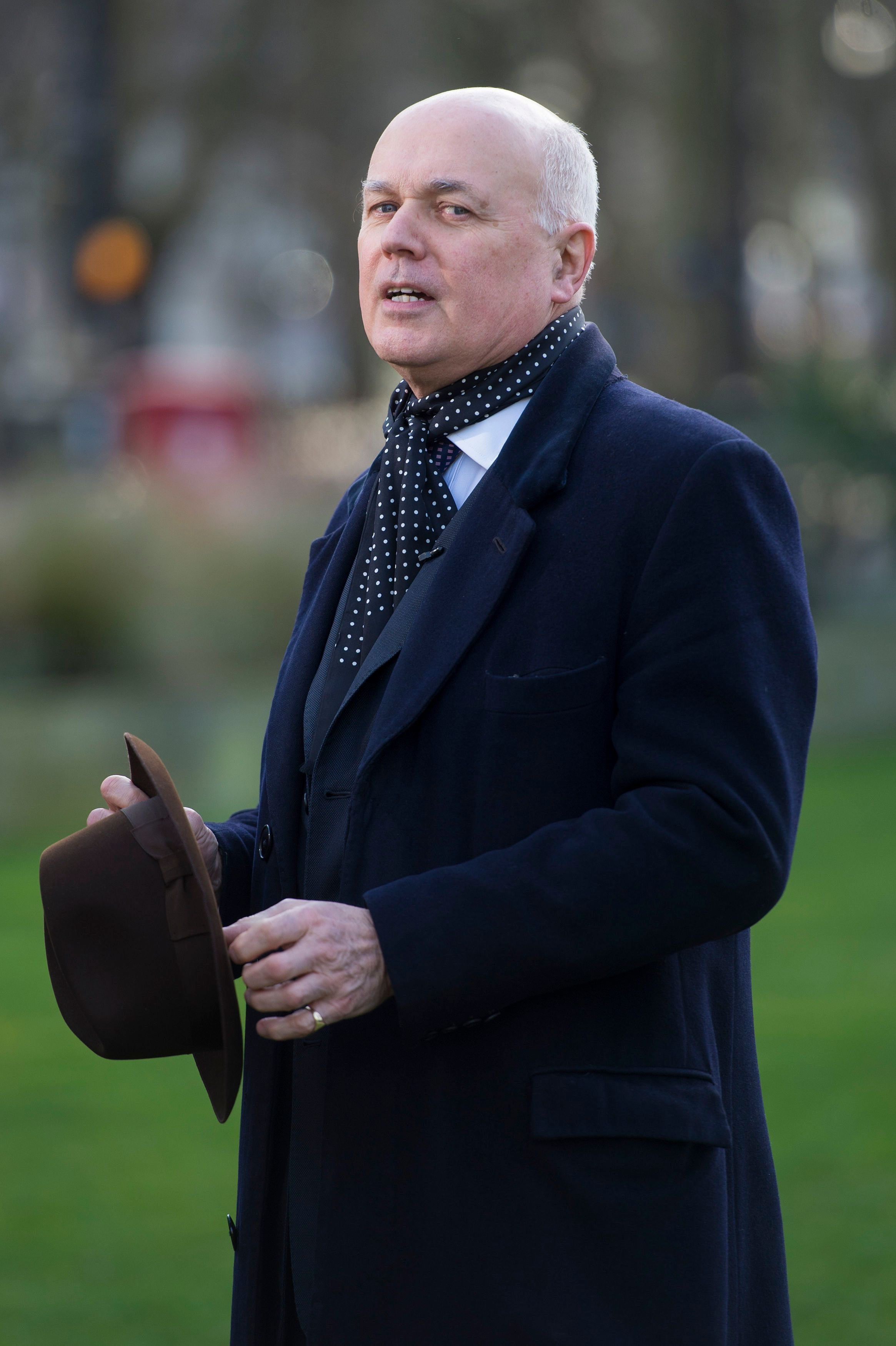 Iain Duncan Smith Claims It Is 'Ridiculous To Go On About Jobs' Amid No-Deal Brexit