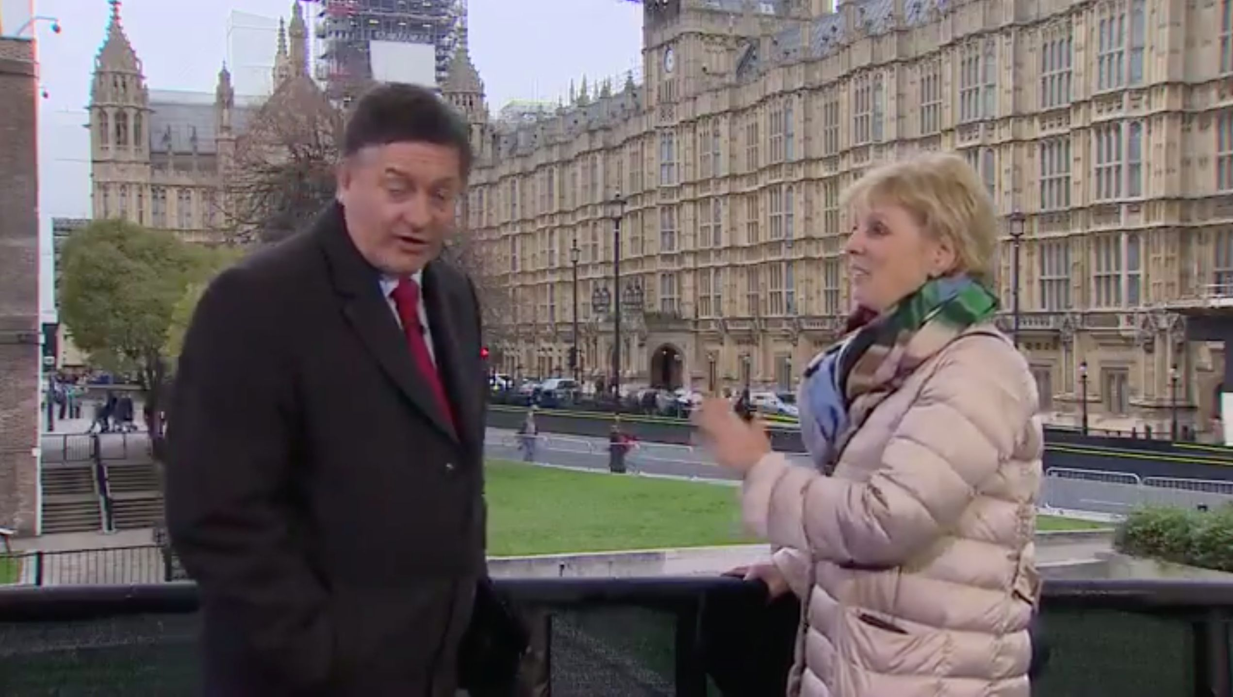 Tory MP Anna Soubry Called 'Nazi' By Chanting Protesters Live On BBC
