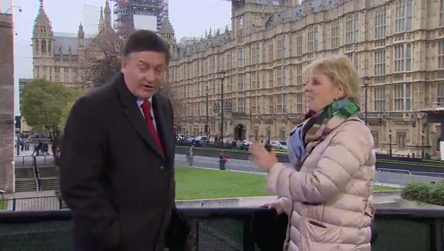 Tory MP Anna Soubry Called Nazi By Chanting Protesters Live On BBC News