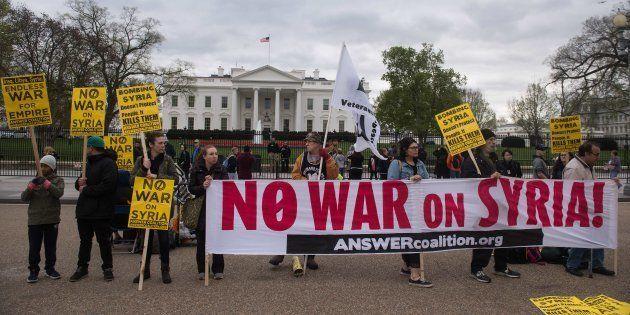 Por que a ofensiva de Trump contra a Síria foi aplaudida por grandes potências