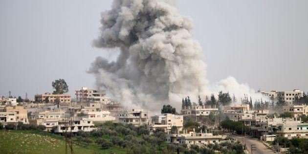 Guerra na Síria começou em