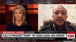 O relato de um sobrevivente da guerra na Síria e o dilema de