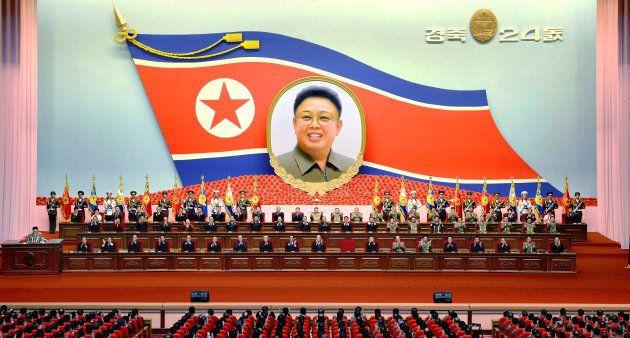 Foto sem data mostra a reunião anual do comitê de governo da Coreia do