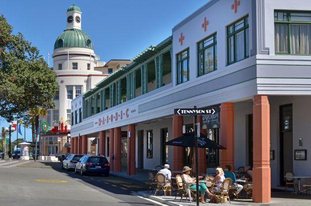 Como um terremoto transformou uma pequena cidade da Nova Zelândia na capital mundial do Art