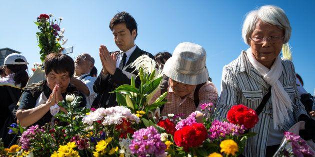 Mais de 50 mil pessoas se reuniram para lembrar o ataque que ocorreu há 72
