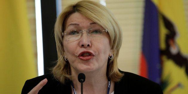 Luísa Ortega, ex-procuradora-geral destituída pela Assembleia Constituinte
