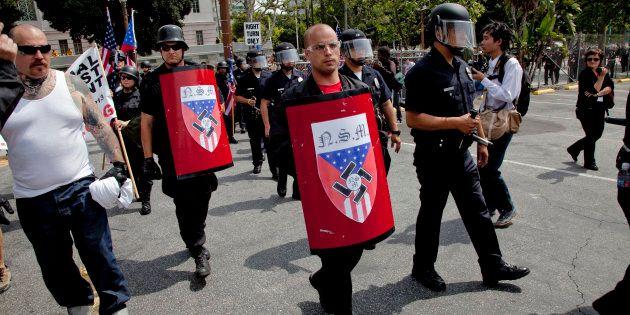 Grupo de supremacistas brancos em