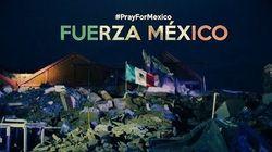 México se une na tragédia: A força da bandeira sobre as ruínas de