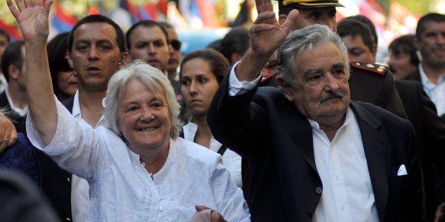 Lucia Topolansky conheceu Mujica quando aderiu ao grupo guerrilheiro