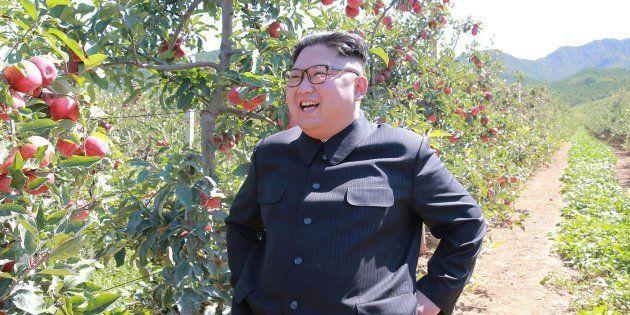 Imagem de arquivo do líder norte-coreano, Kim Jong
