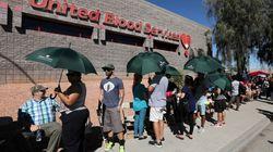 Las Vegas tem fila de 8 horas para doar sangue a