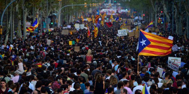 Protesto convocado pela Confederação Geral do Trabalho