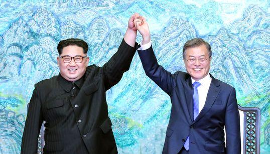 Conciliação entre Coreias: As imagens do encontro histórico entre Kim Jong-un e Moon