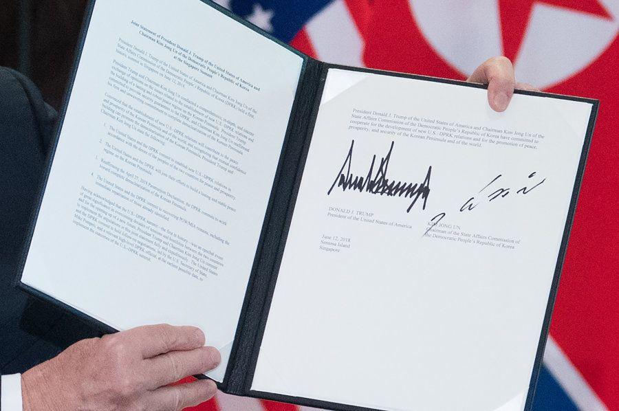 Acordo de desnuclearização da Coreia do Norte foi assinado pelos 2