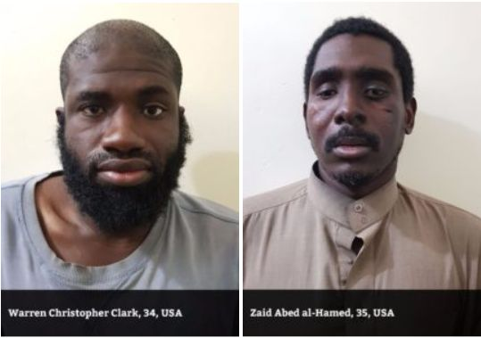 Warren Christopher Clark, 34, and Zaid Abed al-Hamid, 35, were among five men recently captured fighting for ISIS in Syria, according to the U.S-backed Syrian Democratic Forces