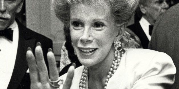 Joan Rivers during 'Hooray For Hollywood' AIDS Benefit - April 5, 1988 at Bloomingdale's in New York City, New York, United S