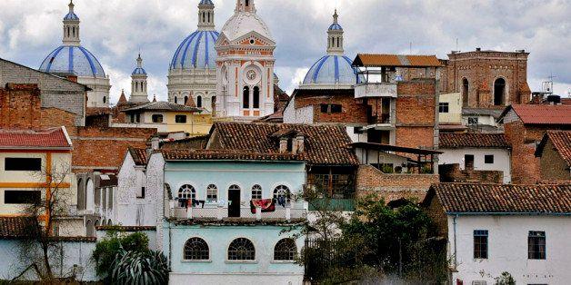 Las cupulas de la Catedral desde la clinica S.ta Ines