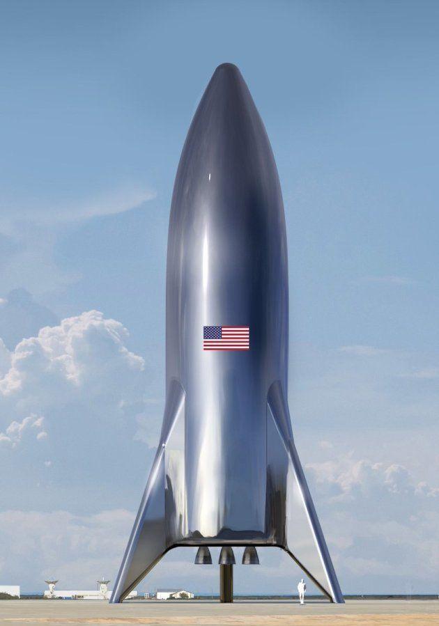 Starship, la fusée géante d'Elon Musk fleure bon les années