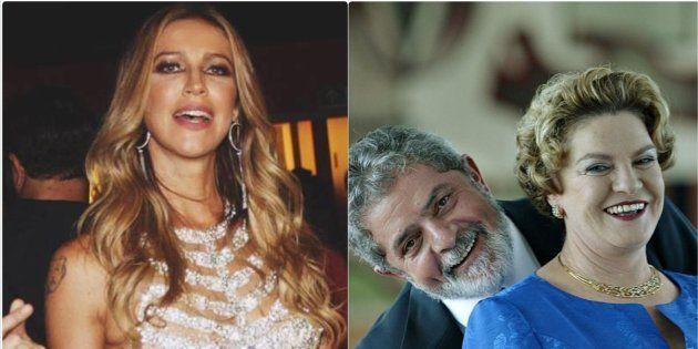 Luana Piovani criticou discurso de Lula em velório de Marisa