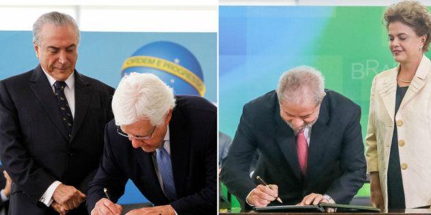 Nomeações de Moreira Franco e Lula para cargos de ministro reabriram o debate sobre o foro