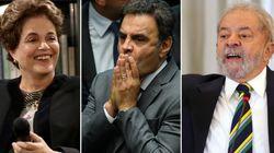 Ministros de Temer, Dilma, Lula e Aécio: Lista de Janot é