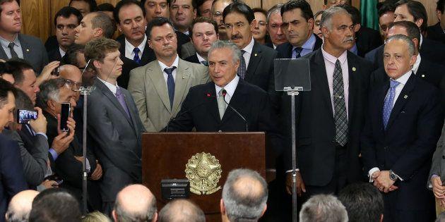 Temer se valeu de um conceito desenvolvido pelo ministro do STF Luís Roberto Barroso, o
