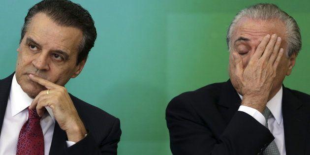 Henrique Eduardo Alves sempre fez parte do núcleo de confiança do presidente e pediu demissão em junho...