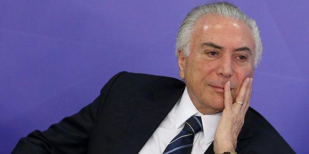 'Não existe crise econômica no Brasil', diz Temer antes do