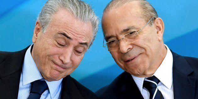 Presidente Michel Temer e ministro da Casa Civil, Eliseu