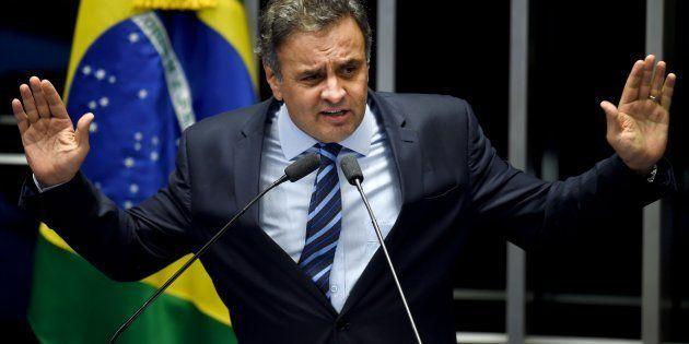 A defesa do senador Aécio Neves diz