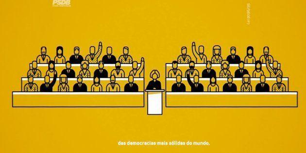 Programa político do PSDB, que defendeu o