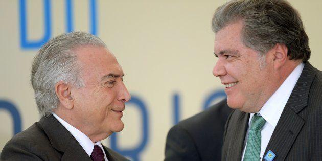 Presidente Michel Temer e o ministro do Meio Ambiente, Sarney Filho: a promessa de um novo