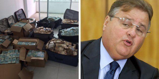 O montante estava escondido em seis malas e oito caixas de papelão, dentro de um apartamento em Salvador,...