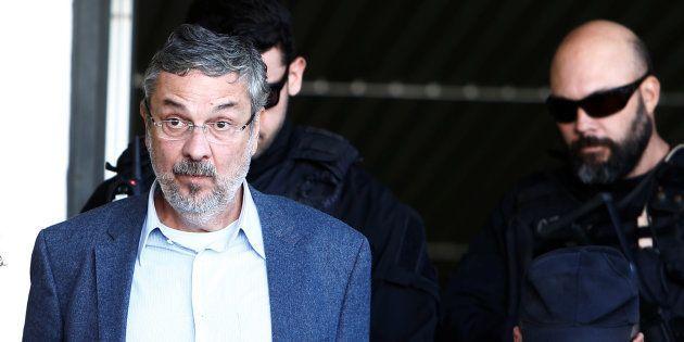 O ex-ministro está detido na carceragem da Polícia Federal (PF) de