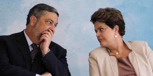 Antonio Palocci foi ministro nos governos de Lula e Dilma