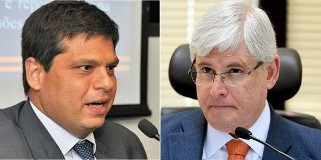 Procurador-geral da República, Rodrigo Janot, diz ter provas de que Marcello Miller, ex-procurador da...