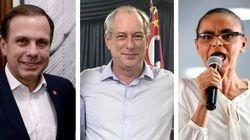 Estes presidenciáveis querem ser o Macron brasileiro em