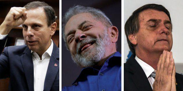 O prefeito de São Paulo quer unir forças para barrar o crescimento de Lula e Jair Bolsonaro nas pesquisas