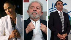 Sem Lula, Marina cola em Bolsonaro e nº de brancos e nulos
