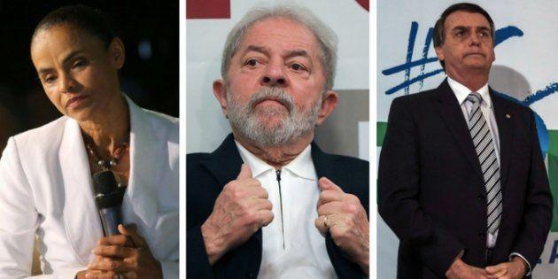 Marina empata tecnicamente com Bolsonaro se candidatura de Lula é