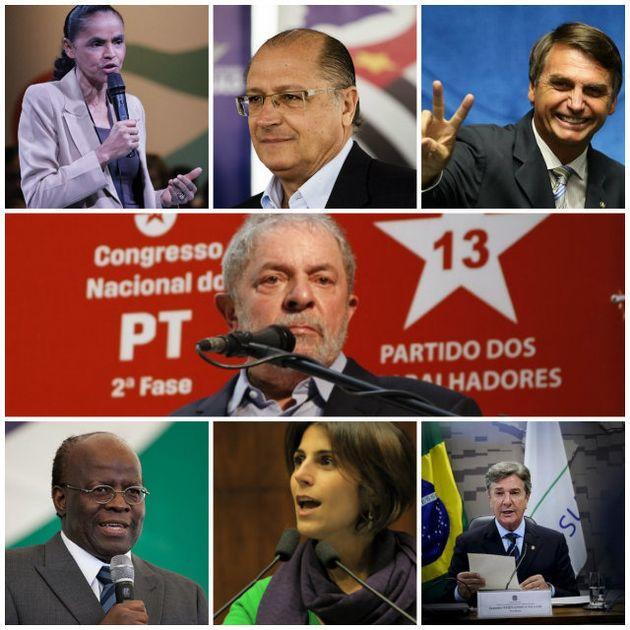 Os 22 pré-candidatos à Presidência do