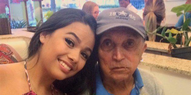 Ela ganhou seu 1º salário e levou seu avô no Mc Donald's. E foi mais legal do que você