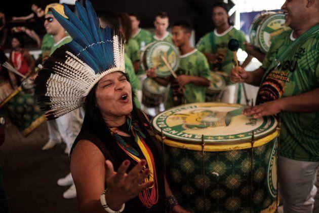 Sônia Guajajara é ativista ambiental e vice na chapa com Guilherme Boulos à Presidência pelo