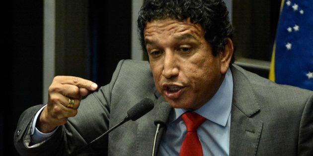 Magno Malta fez discurso apaixonado em defesa da candidatura de Jair Bolsonaro à