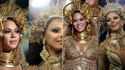 Viviane Araújo ou Beyoncé? A fantasia que deixou o Brasil