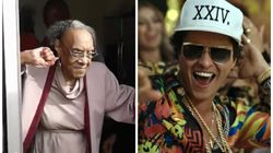 Seu dia vai melhorar depois de ver esta vovó comemorando 100 anos ao som de Bruno