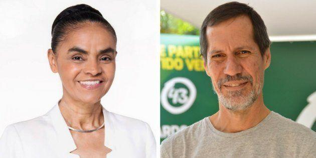 Marina Silva e Eduardo Jorge unem forças de Rede e PV na campanha presidencial de