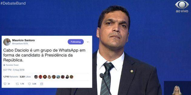 Cabo Daciolo é candidato à Presidência da República pelo